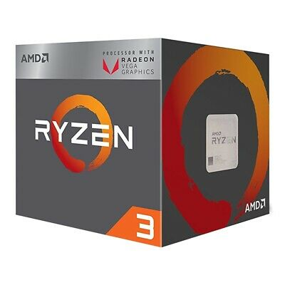Best Budget Gaming AMD 3 Ryzen 2200g 3.5GHZ Smooth Graphic PC DDR 4 Core Thread