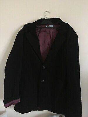 Mens vintage suit jacket size 50 (made in Italy) burgundy