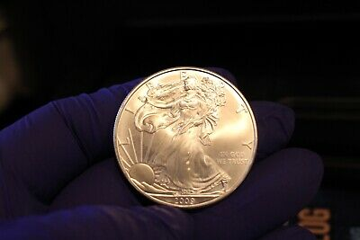 2009 1 Oz Silver American Eagle ( Brilliant  Uncirculated ) New,,,,,