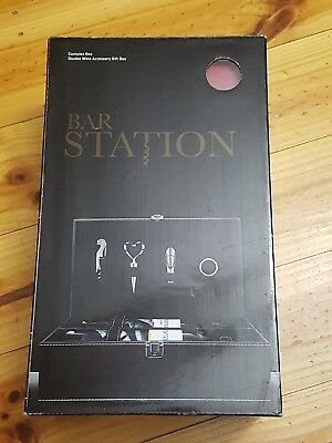 Bar Station | BNIB | Double Wine Accessory Gift Box