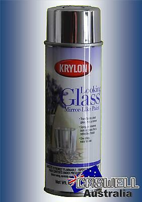 Krylon Looking Glass Spray - Repair or Create a mirror spray paint - AUS seller