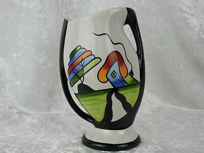 Lorna Bailey Fantasia Two Handled Vase - 22.5 Cm