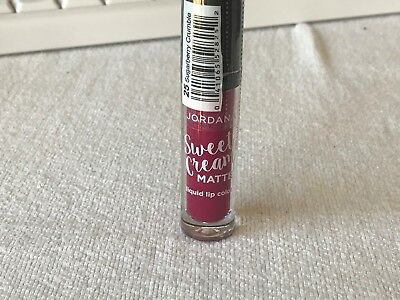 "NEW Jordana Sweet Cream Matte Liquid Lip Color ""Sugarberry Crumble"" Sealed"