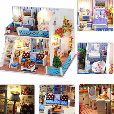 DIY Handcraft Miniature Project My Little Country Lodge 2019 Wooden Dolls House
