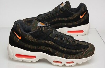 e88d819abcef2c Nike Air Max 95 Carhartt WIP Trainers UK Size 10.5 Black Camo BNWB Free  Postage