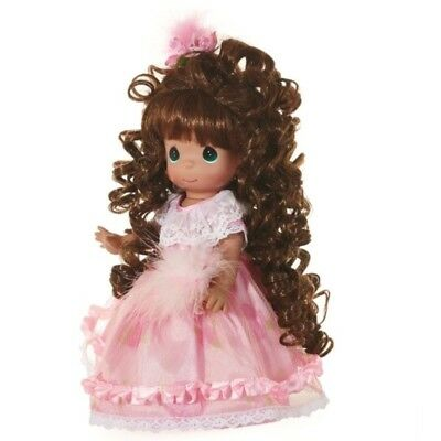 Precious Moments 12 Inch Doll, Curly Locks, Brunette, New in PM Box, 6626
