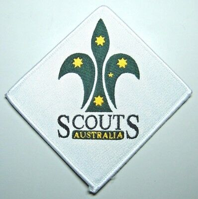 Scouts Australia Logo (Diamond) Badge - current design but not much longer