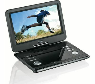 "LOGIK L12SPDVD17 11.6"" 12v Rechargeable Portable In Car DVD Player*Swivel Screen"