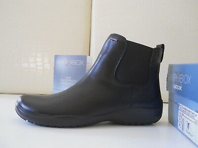 Geox D Arabelle ABX donna stivaletti anfibi Pelle nero Smooth Leather n.36 €150   eBay