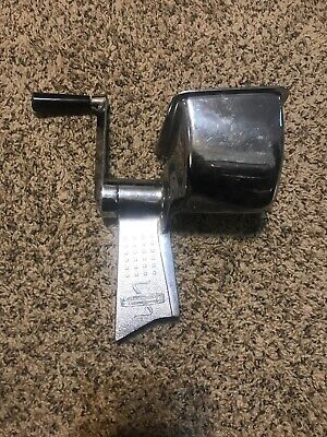 Salad Master Food Processor Replacement Part Upper Body Hand Crank Kitchen