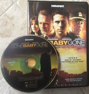 👀L@@K❗️Gone Baby Gone (DVD, 2008) DISC ONLY ~ NO CASE ~ MINT & FAST SHIP❗️