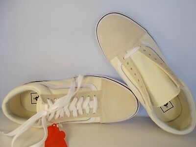 452af79c99 VANS Old Skool Gum Block Classic White Skateboarding Shoes Mens Sz 8 New In  Box
