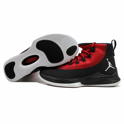 a2c2de4fd53ac MENS NIKE JORDAN SUPER.FLY 2017 Red Basketball Trainers 921203 606 ...