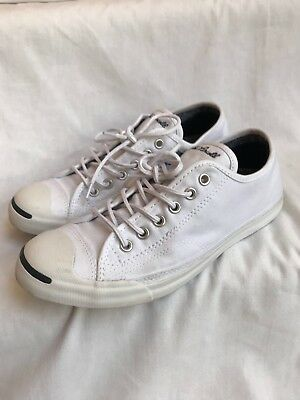 a17aa02c1869 Converse Unisex Jack Purcell Low Profile Slip-On Shoes White Size 6 Men