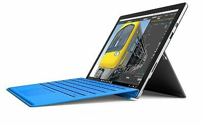Microsoft Surface Pro 4 i5 8GB 256GB Tablet 12in + Keyboard Cover Win 10 Pro