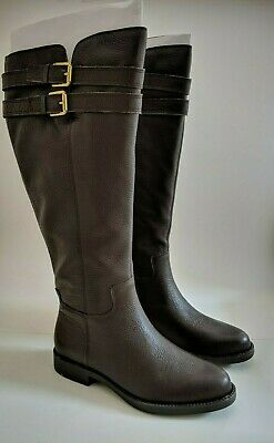 9213bc7c3c9 FRANCO SARTO CHRISTOFF Women 9.5 NEW Equestrian Riding Boot Leather ...