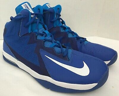 new product d8d92 89ad6 Boys Nike Air Max Stutter Step 2 Basketball Shoes Blue   White 7Y