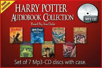 Collection of 7 audiobooks - Harry Potter Series CD-Mp3 Unabridged by Jim Dale