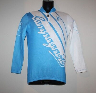 Vintage GIORDANA CAMPAGNOLO CYCLING BIKE JERSEY SHIRT TOP ITALY sz 1 LONG  SLEEVE 3b586278b
