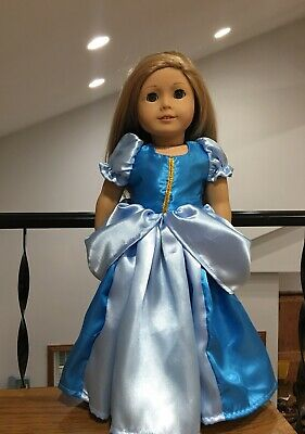 """Fits 18"""" Doll CLothes Cinderella Inspired Dress For American Girl Our Generation"""