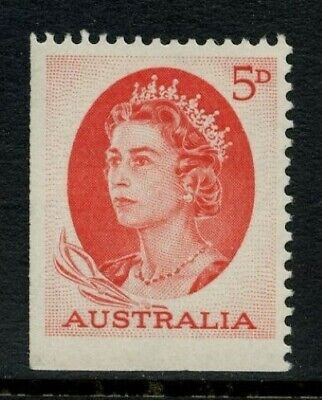 50% OFF! 1965 QEII Defins Series 4 5d Red *BOOKLET STAMP* MUH SG 354c EC3