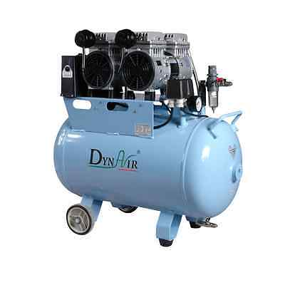 50L Dental Air Compressor Noiseless Oilless 230L/min 1-Driving-3 Stable DA5002