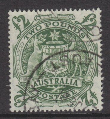 1950 Coat of Arms £2 Green FU SG 224d 068