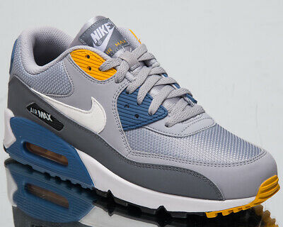 buy online 2be11 12c98 Nike Air Max 90 Essential Men s New Wolf Grey White Casual Sneakers AJ1285 -016
