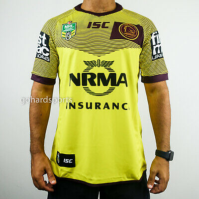 Brisbane Broncos 2018 NRL ISC Alternate Jersey (Mens + Kids Sizes)