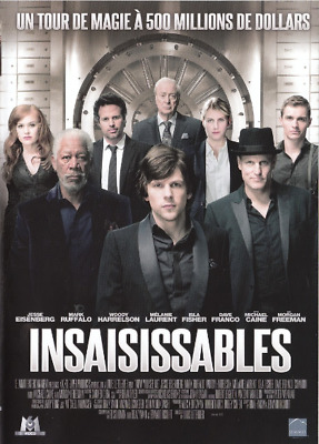 Dvd - Insaisissables / W.harrelson, M.ruffalo, M.freeman, M.laurent, M.caine