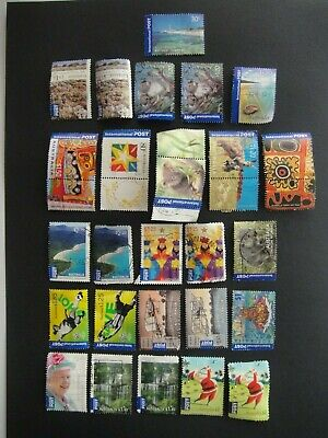 Australia. 25 International Stamps Used. No 2.
