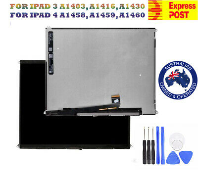 NEW ORIGINAL LCD SCREEN RETINA DISPLAY REPLACEMENT FOR iPad 3, iPad 4 9.7'' AU