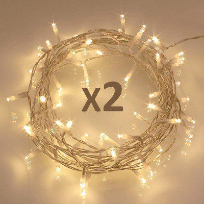 Koopower 40 LED Fairy String Lights, Battery Operated w/ Timer Function for...