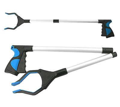 """TooTaci Foldable Grabber Tool 32"""" Extra Long Handy Mobility Aid - Reaching..."""