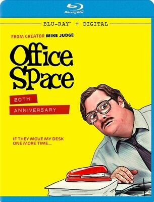 Office Space (Blu-ray+Digital HD) 20th Anniversary Edition-BRAND NEW & SEALED