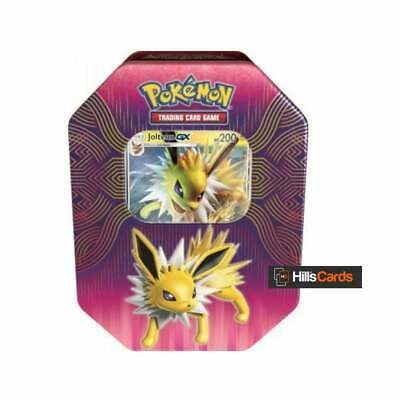 Pokemon Jolteon-GX Elemental Power Collectors Tin: Booster Packs TCG Cards Promo