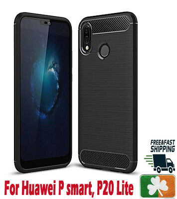 Brand NEW Rugged Armor Case For Huawei P Smart P10 P20 P30 Carbon Fiber Design