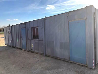 40Ft Container Site Office / Cabin Portable Building Partitioned Modular Pre-Fab