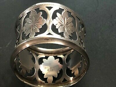 Antique Sterling Silver Napkin Ring,