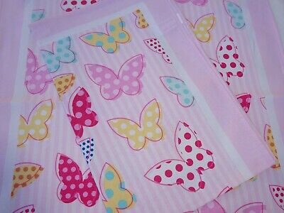 Linen Union Glass/Tea Towel  55/45   Lovely Pretty design of Butterflies   New