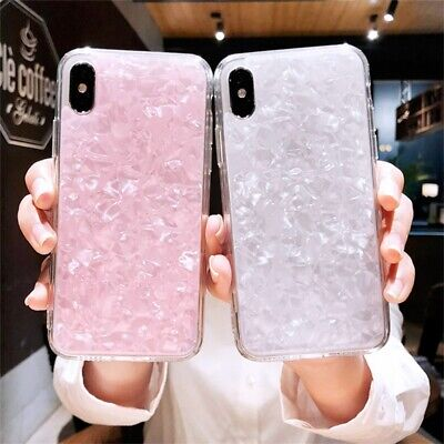 Fashion Marble Shockproof Silicone Protective Case Cover For Phone 8 7 6 Plus