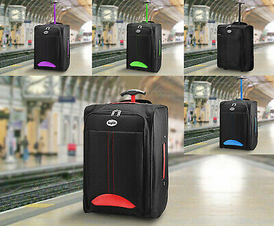 Cabin Bag Lightweight Wheeled Cabin Bag Travel Suitcase Case Hand Luggage