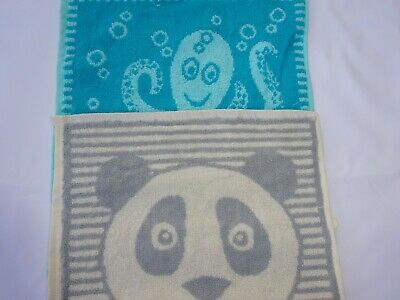 Childrens  Boys and Girls Face cloths.   Boys Patterns and Colours