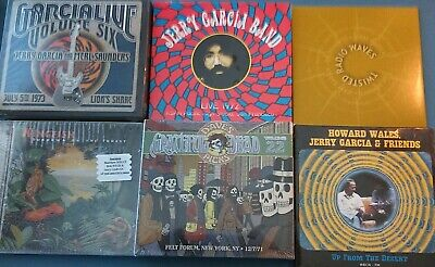 New Sealed Grateful Dead 10 Cd Lot ~ Jerry Garcia ~  Dave's Hot Shows & More!