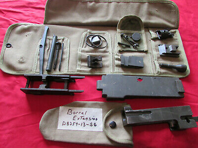 BROWNING 1919A4 M13 Spare Parts Roll 1919 A6 M1919 WWII  30 Cal + Parts and  Etc