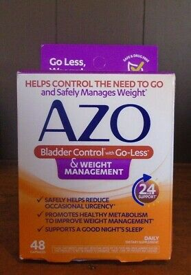 Azo Bladder Control >> Azo Bladder Control With Go Less Weight Management 48