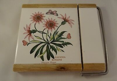 Portmeirion Botanic Garden Gazania Treasure Flower Cheese Sausage Wire Slice