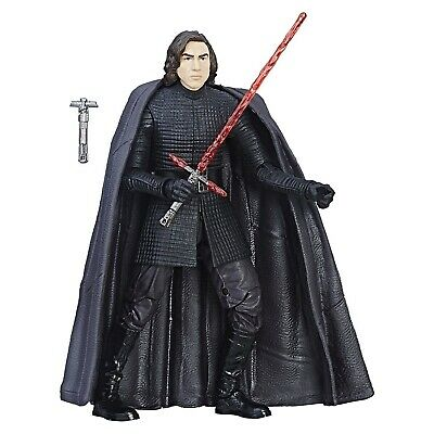 Star Wars The Black Series The Last Jedi Kylo Ren 6 Inch Action Figure LOOSE