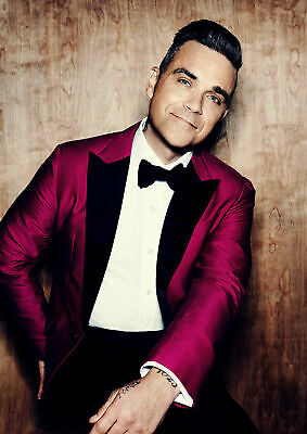 Robbie Williams Poster A5..A4.. A3.. A2.. options 260gsm