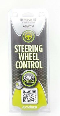 AXXESS UNIVERSAL FIT STEERING WHEEL CONTROL ASWC-1 INTERFACE new